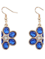 cheap -Women's Rhinestone Alloy Flower Jewelry White Red Blue Costume Jewelry