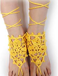 povoljno -Žene Kratka čarapa / Narukvice Tekstil Moda Divan Prilagodljivo Kratka čarapa Jewelry Za Vjenčanje Party Kauzalni