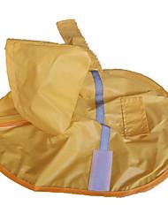 preiswerte -Hund Regenmantel Hundekleidung Wasserdicht Gelb Kostüm Für Haustiere