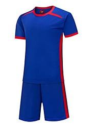 Per uomo Calcio Shorts + Set di vestiti Asciugatura rapida Traspirante Primavera Estate Inverno Autunno Classico TeryleneEsercizi di
