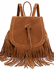 Classic Trend Fringed Shoulder Bag Woman Single Shoulder Bag Soft Woman Multifunctional Travel Packages