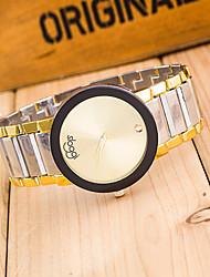 baratos -Mulheres Relógio de Pulso Relógio Casual Lega Banda Fashion / Elegante / Relógio Elegante Prata