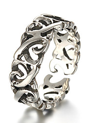 cheap -Midi Rings Band Rings Silver Sterling Silver Heart Fashion Adjustable Silver Jewelry Daily Casual 1pc
