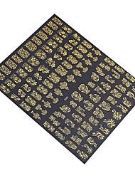 Недорогие -1 pcs Самостоятельная-Stick Примечания / Наклейка для ногтей Цветы / Аксессуары для инструментов Nail Art DIY Наклейки / Дизайн ногтей