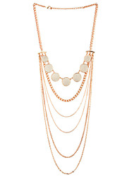 Недорогие -lgsp женщин сплава ожерелье ежедневно acrylic61161005 элегантный стиль