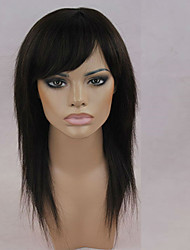 cheap -Human Hair Capless Wigs Human Hair Straight Classic High Quality Machine Made Wig Daily