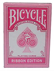 Недорогие -розовый лента велосипед велосипед покер карты магия покер карты настольная игра розовый 1 или 2 поколения каждая пара (два)
