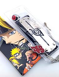 baratos -Jóias Peça para Cabeça Inspirado por Naruto Fantasias Anime Acessórios para Cosplay Colares Anél Bandana Liga Homens novo