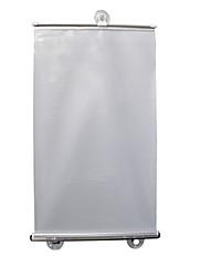 billiga -58 * 125cm silver prickar automatisk infällStång slutare anti-UV sol isolering parasoll