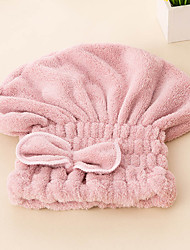cheap -Fresh Style Hair Wraps,Solid Superior Quality 100% Polyester Towel