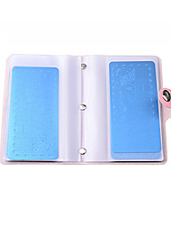 cheap -20 slots large rectangular nail art stamping plate holder stamp template concise organizer empty case