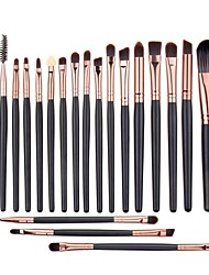 cheap -20 Eyelash Comb (Round) Liquid Eyeliner Brush Eyeliner Brush Brow Brush Lip Brush Eyeshadow Brush Blush Brush Makeup Brush Set Others