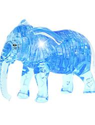 economico -Costruzioni Puzzle Modellini di cristallo Giocattoli Elefante Novità 41 Pezzi