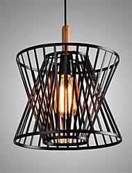 Retro Contracted Black Wrought Iron Birdcage Pendant Lights Restaurant,Cafe ,Game Room,Garage light Fixture