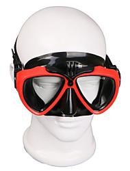 baratos -Óculos / Máscaras de Mergulho / Montagem Ajustável / Impermeável Para Câmara de Acção Gopro 6 / Sport DV / Gopro 5/4/3/3+/2/1 Mergulho PU