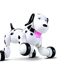 economico -RC Robot Learning & Education Cane robot Pet elettronico 2.4G Plastica ABS Avanti indietro Danza Marcia Programmabile Smart