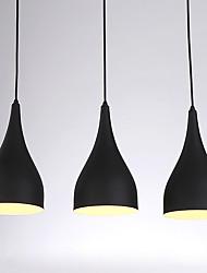 abordables -CXYlight 3-luz Lámparas Colgantes Luz Downlight - Mini Estilo, 110-120V / 220-240V Bombilla no incluida / 15-20㎡ / E26 / E27