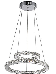 cheap -LED Pendant Light Chandeliers Lamps Fixtures with 2Ring D2040CM 27W CE FCC ROHS