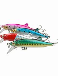 baratos -1pcs pçs Iscas Vairão Plástico Duro Rotação / Pesca de Água Doce / Pesca Geral