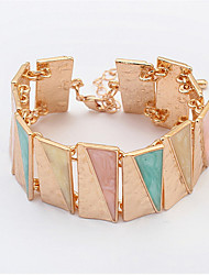 European And American Fashion Triangle Bracelet