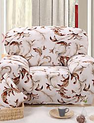 economico -Moderno Copridivano , Tessuto elasticizzato Floral / botanico Stampato Copriletto
