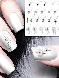 tanie -1 pcs Naklejka na transfer wody Sztuka zdobienia paznokci Manikiur pedikiur Moda Codzienny