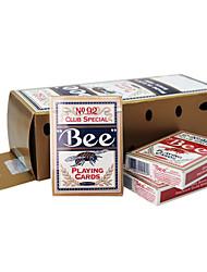 Недорогие -пчела игральных карт 92 пчелиный марки флуоресцентные анти-подделки карт (12 Pack)