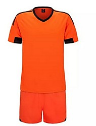 cheap -Men's Soccer Clothing Suits Quick Dry Breathable Spring Summer Fall Winter Terylene Exercise & Fitness Leisure Sports Football / Soccer