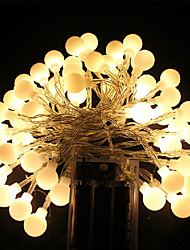 cheap -Aa Battery Led String Light Cherry Ball Led Light 5M 40Led Decoration Light For Home/Party/Wedding