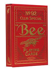 Недорогие -маточное ул. пчелиный золота на заказ опрокидывание больших покерных карт процесс горячего тиснения (2 шт)