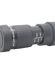 Недорогие -8x X 12 mm Монокль Линзы Общий Зрительная труба Ночное видение Многослойное покрытие BAK4 пластик Стекловолокно Алюминиевый сплав / Наблюдение за птицами