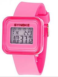 SYNOKE Kids' Sport Watch Wrist watch Digital Watch Digital LCD Calendar Chronograph Water Resistant / Water Proof Alarm Luminous Rubber