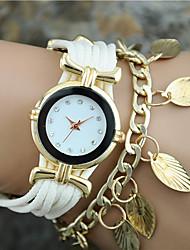 cheap -Women's Quartz Bracelet Watch Hot Sale Fabric Band Charm Fashion Black White Blue Red Gold Rose