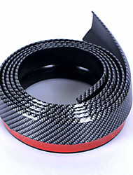 Carking™  2.5M Car Rubber Bumper Guard Adhesive Door Edge Strip Trim Moulding