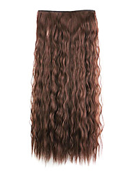 Brown Length 60CM Synthetic A Chip Ringlet Europe and The United States Foreign Trade(Color 33J)