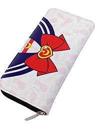 Borsa / Portafogli Ispirato da Sailor Moon Sailor Moon Anime Accessori Cosplay A portafoglio Rosso Cuoio Uomo / Donna