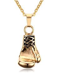 Недорогие -Муж. Мода европейский Ожерелья с подвесками Кулоны Титановая сталь Ожерелья с подвесками Кулоны , Повседневные