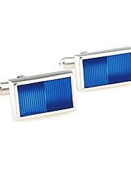 cheap -Blue Cufflinks Alloy Work Casual Men's Costume Jewelry