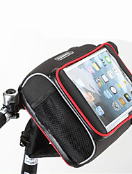 cheap -Rosewheel Bike Handlebar Bag Shoulder Bag Cell Phone Bag 5.7 inch Waterproof Zipper Wearable Moistureproof Shockproof Touch Screen Cycling
