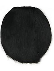 Недорогие -кудрявый вьющиеся черные прямые человеческие волосы ткет шиньоны 4010