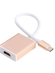Tipo C al cavo HD HDMI (oro)