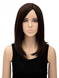Capless Multi-color Middle Length High Quality Natural Straight Synthetic Wigs