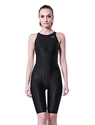 cheap -Women's Breathable Removable Cups Ultra Light Fabric Compression Chinlon Elastane Diving Suit Swimwear - Swimming