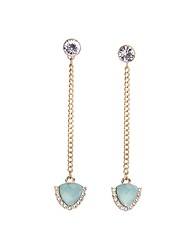cheap -Women's - Party / Fashion / Imitation Pearl Golden Geometric Earrings For Party / Daily / Casual