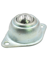 Недорогие -Ланда Tianrui TM-поделки стальной шарик универсальный колесо для контроля робота - серебро (2 шт)