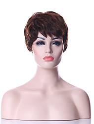 cheap -top quality fashion short dark brown wig woman s synthetic wigs hair freeshipping