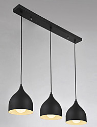 cheap -3 Lights E26/E27 Pendant Light ,  Modern/Contemporary for Living Room / Bedroom / Dining Room / Kitchen / Study