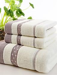 Недорогие -Банное полотенце,Окрашенная пряжа Высокое качество 100% хлопок Полотенце