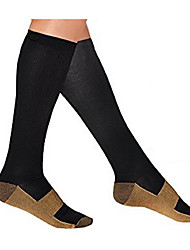 cheap -Knee High Socks Unisex Compression for Exercise & Fitness Racing Running