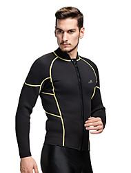 economico -Per uomo Top sottomuta Tenere al caldo Compressione Tactel Scafandri Costumi da bagno Top Immersioni Surf Snorkeling
